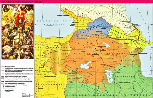 Վարդանանց պատերազմը 450-451-թթ.