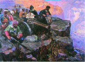 «Զեյթունի 1862 թ-ի պաշտպանությունը». (1962 թ., գործ՝ Զուլում Գրիգորյանի)