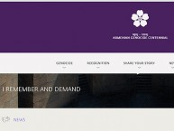 Armeniangenocide100.org