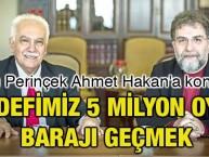 Doğu Perinçek Ahmet Hakan'a konuştu