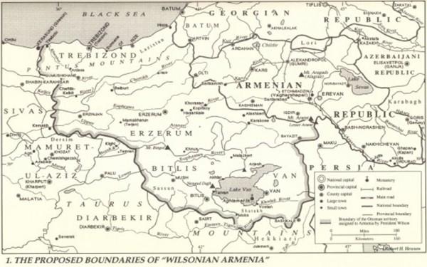 Հայ-թուրքական սահմանը ըստ Վիլսոնյան իրավարար վճռի