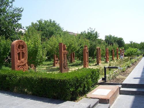 Ermeni haçkarı-Oşakan'da bulunan Harfler Parkı