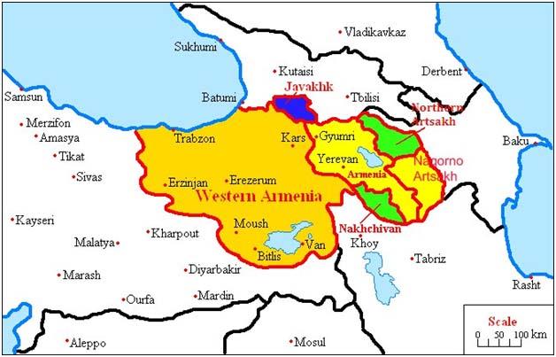 Հայաստանի օպտիմալ քարտեզ
