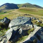 EC Geğarkunik bölgesi, Sev sar, kaya resmi, M.Ö. V.-III. binyıl (fotoğraf K. Tokhatyan)