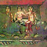 EC Kotayk bölgesi, Garni, hamam tabanı mozayiği, M.S. I.-II. yüzyıl (kazılar B. Arakelyan, fotoğraf A. Movsesyan)