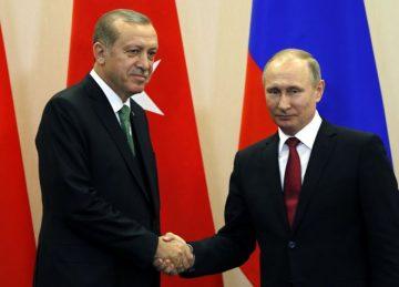 Tayyip Erdoğan ve Vladimir Putin